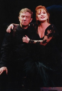 "Hearn and LuPone in ""Sweeney Todd"""