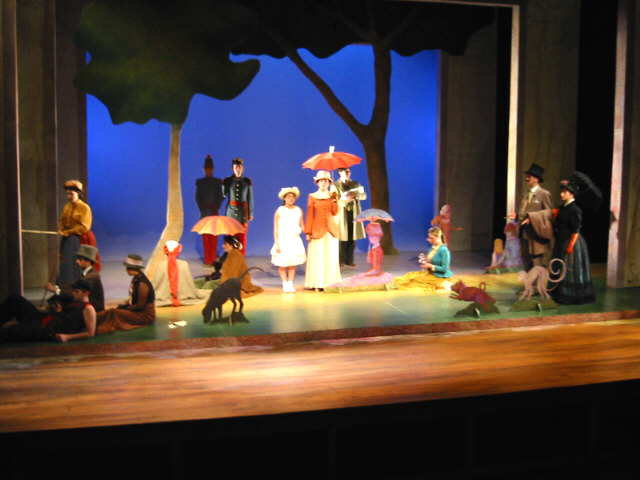 """The Pegasus Players cast of """"Sunday in the Park with George"""""""