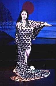 "Robertson in ""Kabuki Medea,"" a show I did not see her in, but wish I had."