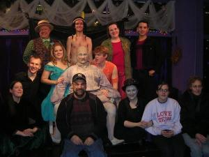 "Theo Ubuique's cast and crew of ""The Fantasticks"""