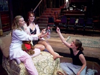 "Jill Schmits, Kristin Danko and Emmi Hilger in ""Anton in Show Business"""