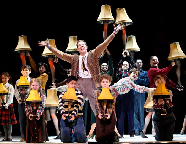 A Christmas Story Musical.A Christmas Story The Musical Is A Major Award For The