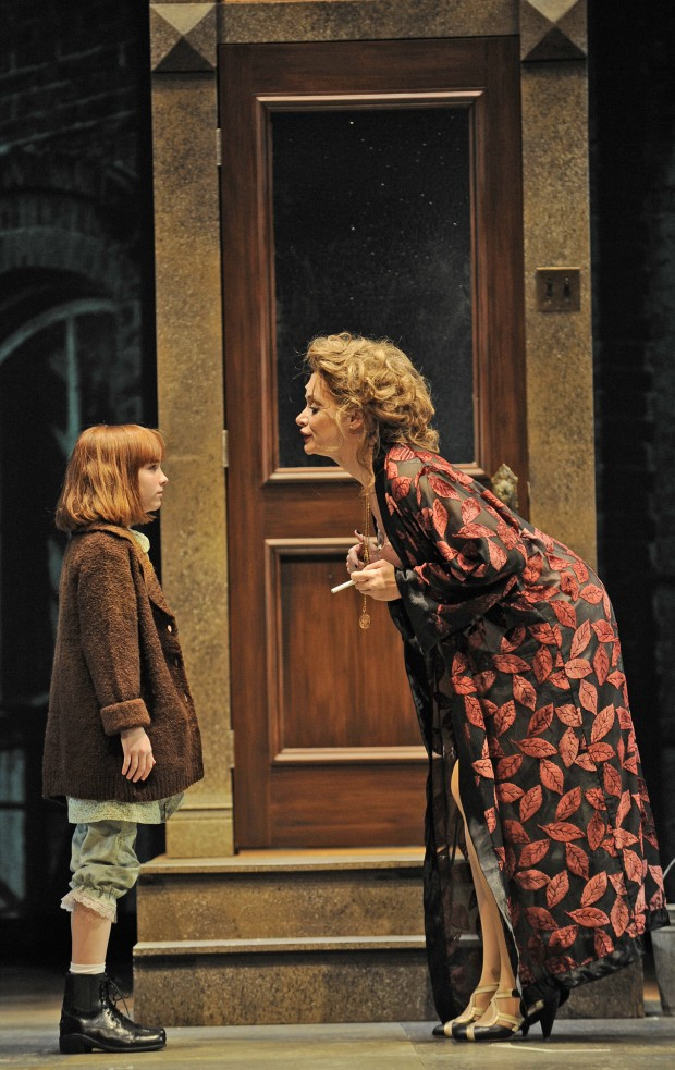 Christine Sherrill as Miss Hannigan ...  sc 1 st  Chicago Theatre Addict & Drury Laneu0027s u0027Sunset Boulevardu0027 gets its Norma Desmond u2013 Chicago ...